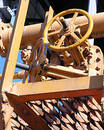 Yellow Machinery Royalty Free Stock Photo