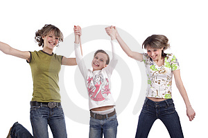 Crazy fun Royalty Free Stock Photo