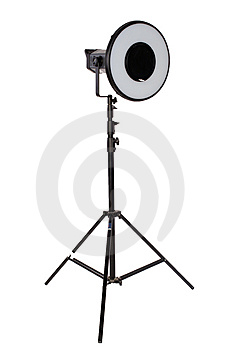 Studio Flash On Tripod Royalty Free Stock Photography - Image: 2305567