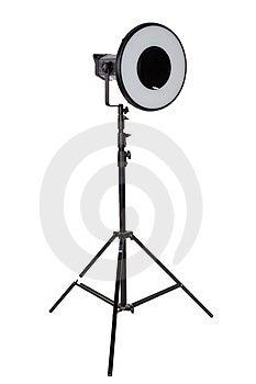 Studio Flash On Tripod Royalty Free Stock Photography - Image: 2305567