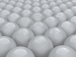 Balls Array Stock Images - Image: 2309464