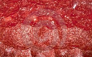 Sliced salami Stock Photos - Image: 23002483
