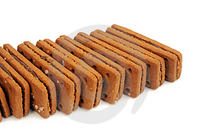 Chocolate Biscuits Stock Photo - Image: 23004410