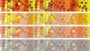 Honey Banners Set Stock Photography - Image: 23010682