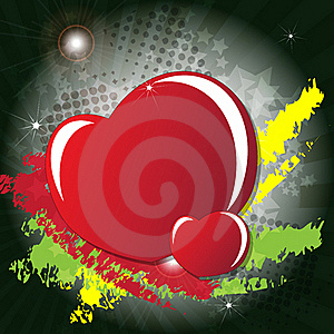 Valentine Day's Card Stock Image - Image: 23011761