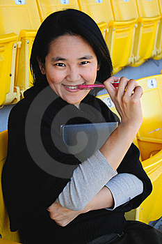 Close Up Of Asian College Student Stock Photography - Image: 23020152