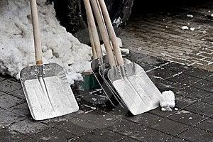 Snow Shovel Royalty Free Stock Photography - Image: 23035447