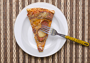 A Slice Of Pizza Stock Image - Image: 23035881