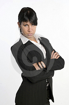 Beautiful Businesswoman Portrait Stock Photo - Image: 23036290