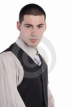 Portrait Of Businessman Royalty Free Stock Image - Image: 23036306