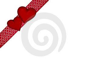 Hearts Ribbon Stock Photos - Image: 23036653