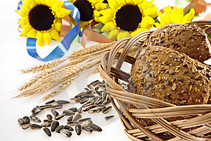 Whole-grain Bread Royalty Free Stock Images - Image: 23041579
