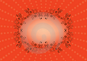 Oval Frame Royalty Free Stock Images - Image: 23046559
