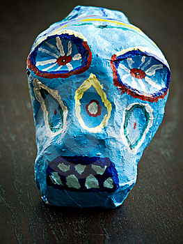 Day Of The Dead Skull Royalty Free Stock Image - Image: 23049036