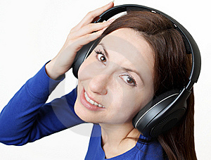 Music In Headphones Stock Images - Image: 23051044