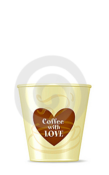 Coffee Cup/ Love Royalty Free Stock Photo - Image: 23056935