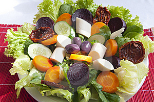 Salad Royalty Free Stock Photo - Image: 23062455