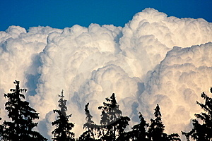 Huge White Clouds Stock Photo - Image: 23062520