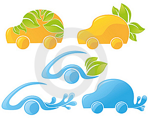 ökologische Autos Lizenzfreie Stockfotografie - Bild: 23063077