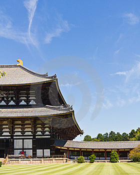 Todai-ji Temple In Nara, Japan Royalty Free Stock Photography - Image: 23073747