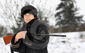 A Hunter Stock Photo - Image: 23074380
