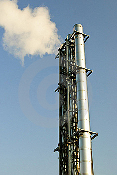 Industrial Smoke Stock Images - Image: 23085164