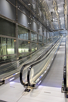 Corporate Escalator Royalty Free Stock Photography - Image: 23092077