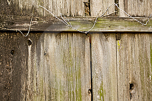 Wood Fence Royalty Free Stock Photos - Image: 23094178