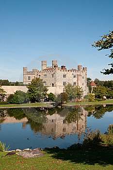 Castle On The River Royalty Free Stock Image - Image: 23098906