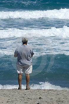Surf Fishing Royalty Free Stock Image - Image: 2312016