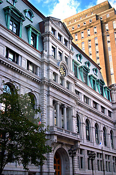 Government Center, Boston Royalty Free Stock Photography - Image: 2318767