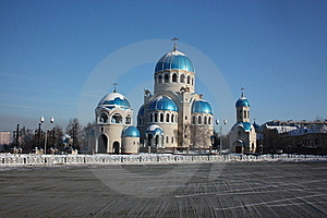 Russia, Moscow. Temple Of The Holy Trinity Royalty Free Stock Images - Image: 23115149