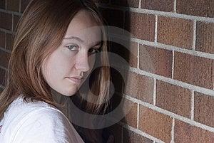 Sneaky Cute Girl. Stock Photos - Image: 23117003