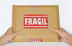 Fragile Package Stock Photo - Image: 23125170