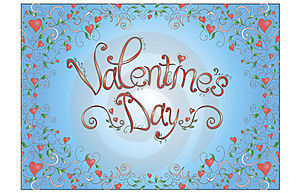 Valentine's Day Card Royalty Free Stock Photos - Image: 23126818
