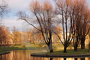 Autumn In St. Petersburg Royalty Free Stock Image - Image: 23130606