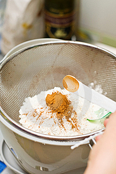 Mixing Cocoa Royalty Free Stock Photography - Image: 23131787