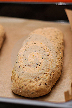 Loaf Of Sweet Bread Royalty Free Stock Image - Image: 23131966