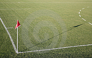 Corner Flag Stock Images - Image: 23132214
