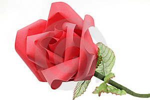 Rose Flower Origami Paper Craft Stock Photos - Image: 23133233