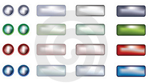 Web Buttons Stock Photography - Image: 23134532