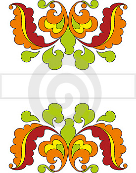 Decorative Ornament In Russian Tradition Style Royalty Free Stock Photography - Image: 23140437