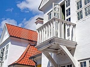 Small Wooden Balcony Royalty Free Stock Photos - Image: 23143758