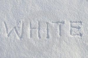 White On Snow Stock Image - Image: 23144481