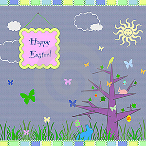 Easter Greeting Card Royalty Free Stock Image - Image: 23153606