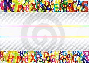 Colorful Alphabet Royalty Free Stock Image - Image: 23168046
