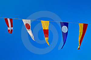 Signal Flags Stock Image - Image: 23168941