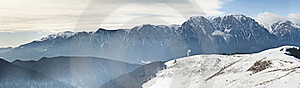Mountains Panorama Royalty Free Stock Images - Image: 23174059