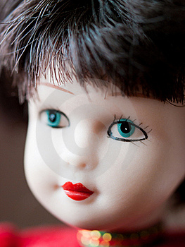 Cute Doll Portrait Stock Photography - Image: 23188252