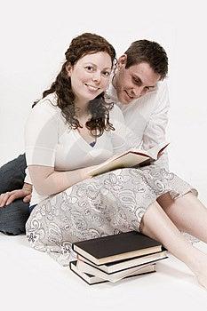 Couple Reading Stock Photography - Image: 2325482
